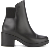 Melissa Women's Elastic Heeled Ankle Boots Black