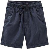 Osh Kosh Woven Shorts (Toddler/Kid) - Independence Navy - 5