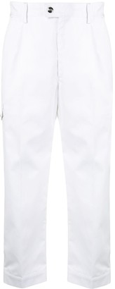 MSGM Multi-Pocket Cropped Trousers
