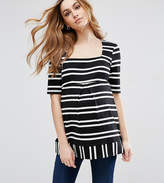 Isabella Oliver Kiara Maternity Striped Tunic