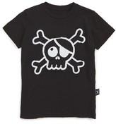 Nununu Toddler Boy's Skull Patch T-Shirt