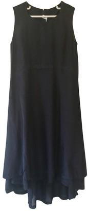 Comme des Garcons Black Silk Dresses