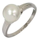 Mikimoto Platinum Pearl Ring Size 7