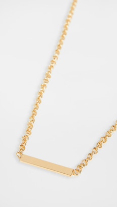 Gorjana Lou Tag Necklace