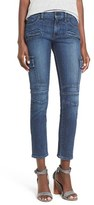 Hudson Women's 'Colby' Patch Skinny Jeans