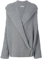 Jil Sander wrap knitted sweater - women - Cashmere/Wool - S