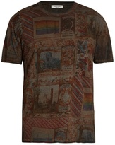 Valentino Cigar Box-print Cotton T-shirt