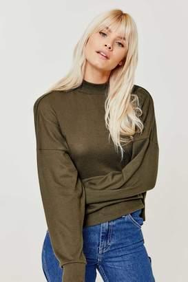 Ardene Brushed Mock Neck Sweater