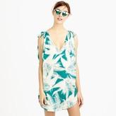J.Crew Sleeveless beach tunic in tropical fern