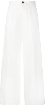 Colville High Waist Flared Trousers