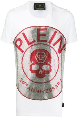 Philipp Plein 20th Anniversary embellished T-shirt