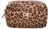Salvatore Ferragamo Leather Cosmetic Crossbody Bag w/ Tags
