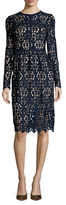 Alexia Admor Lace Knee Length Dress