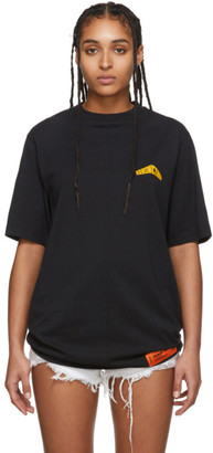Heron Preston Black Over Style T-Shirt