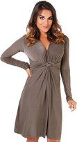 KRISP Casual Dress (UK 18 / US 14) (9878-BLK-18)