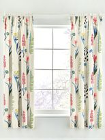 Sanderson Floral bazaar 66X72 lined curtains raspberry