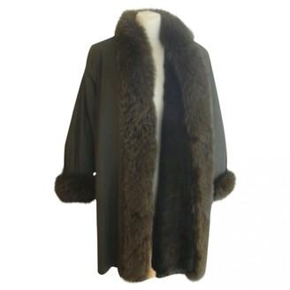 Jean Louis Scherrer Jean-louis Scherrer Khaki Fox Coats