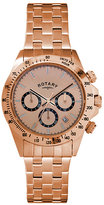 rotary men s chronograph rose gold plated bracelet watch men > clothing > watches jewellery > watches > rotary watches