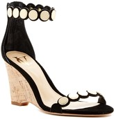 Vince Camuto Signature Elodie Scalloped Wedge Sandal
