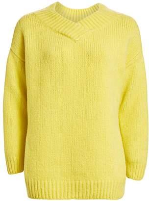 Fabiana Filippi Lofty Oversize V-Neck Sweater