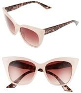 A. J. Morgan Women's A.j. Morgan 'Flamboyant' 55Mm Sunglasses - Black