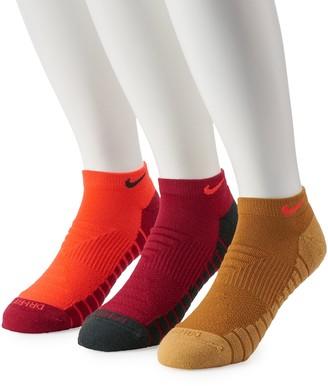 Nike Men's Everyday 3-pack Max Cushion No-Show Socks