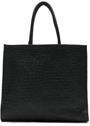 Sarah Chofakian Woven Tote Bag