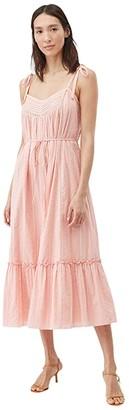La Vie Rebecca Taylor Kelsey Clip Dress (Milk) Women's Clothing