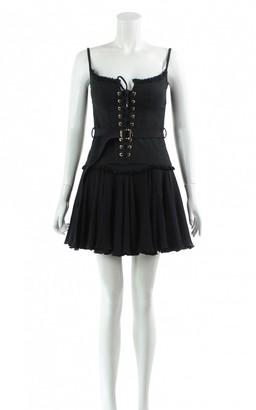 DSQUARED2 Black Cotton Dresses