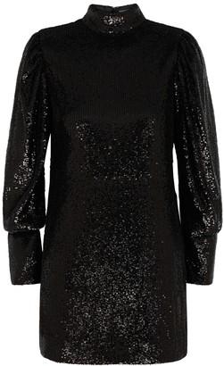A.L.C. Christy black sequin mini dress
