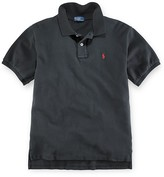 Ralph Lauren Boys' Solid Mesh Polo Shirt Sizes 2T-7