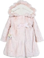 Widgeon Little Girls' Hooded Faux Fur Coat (Toddler/Kid)
