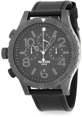 Nixon Stainless Steel Chronograph Watch