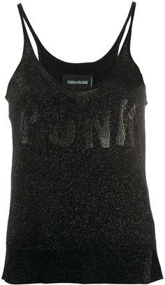 Zadig & Voltaire Jossy embellished sleeveless top