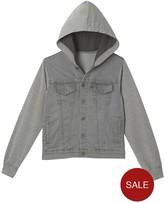 Levi's Hooded Denim Sweat Jacket