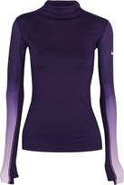 Nike Pro Hyperwarm Ombré Dri-fit Stretch-jersey Top