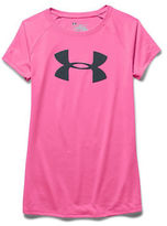 Under Armour Girls 7-16 Logo Athletic Top