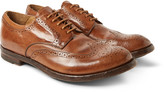 Officine Creative - Anatomia Polished-leather Wingtip Brogues