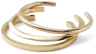 Soko Women's Bracelets Gold - Goldtone Imani Cuff Set