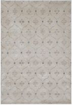 Bed Bath & Beyond Radiance Geo Medallion 6-Foot 6-Inch X 9-Foot 10-Inch Area Rug in Taupe