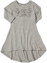 Mimi & Maggie Window Seat Dress (Toddler/Kid) - Gray-6x