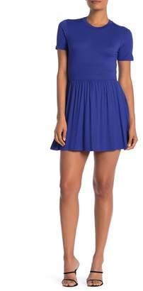 Velvet Torch Short Sleeve Jersey Mini Dress