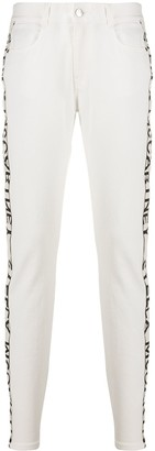Stella McCartney Logo Tape Skinny Jeans