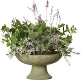 OKA Bowl of Faux Lavender and Mint