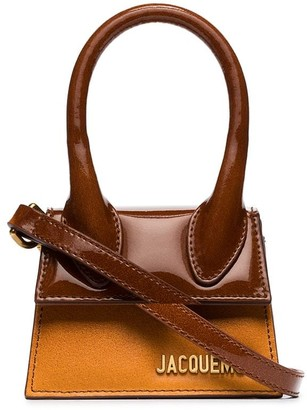 Jacquemus Le Chiquito Mini leather tote bag