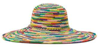 Sensi Studio Colorful straw hat