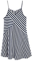 Splendid Girls' Crossover Stripe Dress - Big Kid
