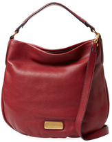 Marc by Marc Jacobs New Q Hiller Leather Hobo