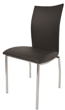 Ebern Designs Dutcher Dining Chair (Set of 2 Upholstery Color: Beige