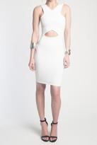Donna Mizani V Strap Cut Out Mini Dress